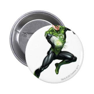 Green Lantern - Fully Rendered,  Jumping 6 Cm Round Badge