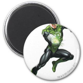 Green Lantern - Fully Rendered,  Jumping 6 Cm Round Magnet
