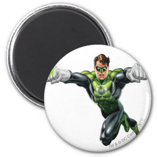Green Lantern - Fully Rendered,  Looking Forward 6 Cm Round Magnet