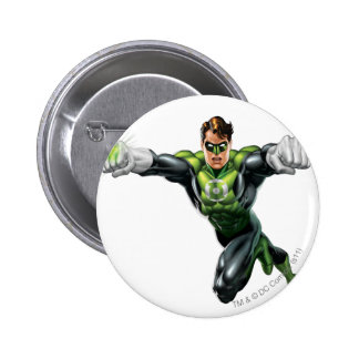 Green Lantern - Fully Rendered,  Looking Forward 6 Cm Round Badge