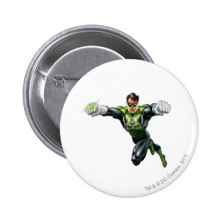 Green Lantern - Fully Rendered,  Looking Forward 6 Cm Round Badge