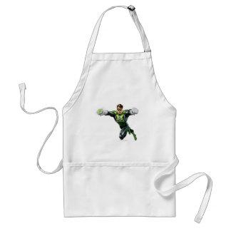 Green Lantern - Fully Rendered,  Looking Forward Standard Apron