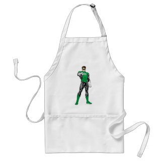 Green Lantern - Fully Rendered,  Standing Standard Apron