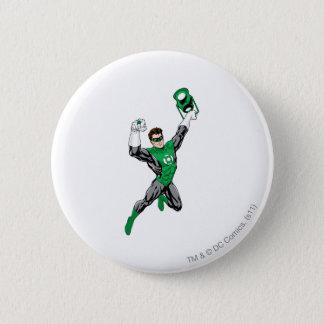 Green Lantern - Fully Rendered,  with lantern 6 Cm Round Badge