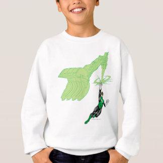 Green Lantern - Fully Rendered,  with machine Sweatshirt