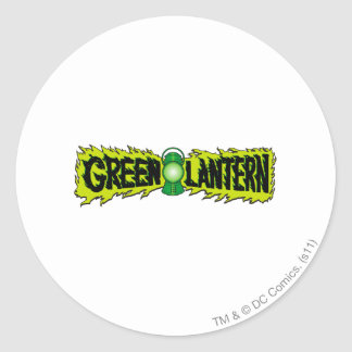 Green Lantern - Glowing Lantern 2 Classic Round Sticker