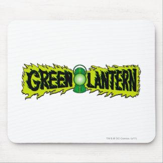 Green Lantern - Glowing Lantern 2 Mouse Mat