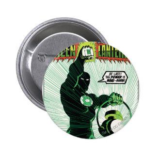 Green Lantern - Glowing Lantern 6 Cm Round Badge