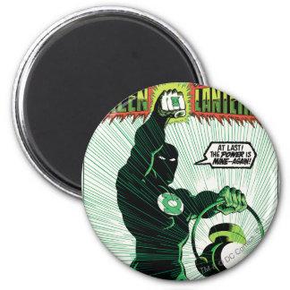 Green Lantern - Glowing Lantern 6 Cm Round Magnet