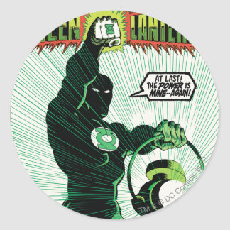 Green Lantern - Glowing Lantern Classic Round Sticker