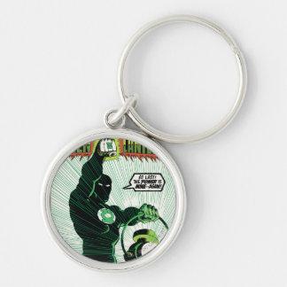 Green Lantern - Glowing Lantern Key Ring