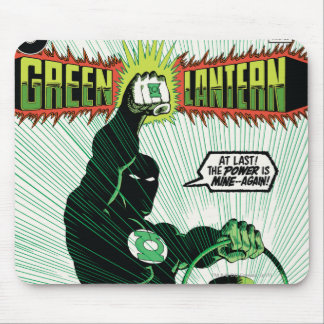 Green Lantern - Glowing Lantern Mouse Mat