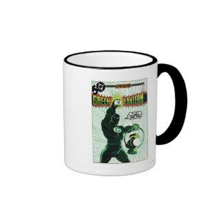 Green Lantern - Glowing Lantern Ringer Mug