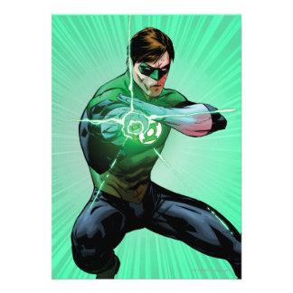 Green Lantern Glowing Ring Announcement