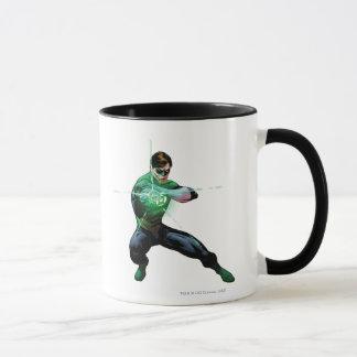 Green Lantern & Glowing Ring Mug