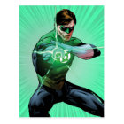 Green Lantern & Glowing Ring Postcard
