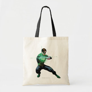 Green Lantern & Glowing Ring Tote Bag