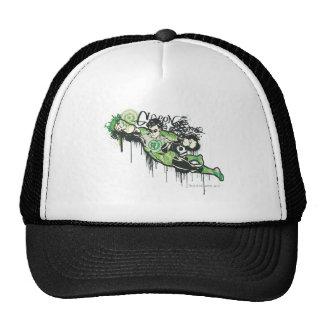 Green Lantern Graffiti Character Cap