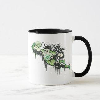 Green Lantern Graffiti Character Mug