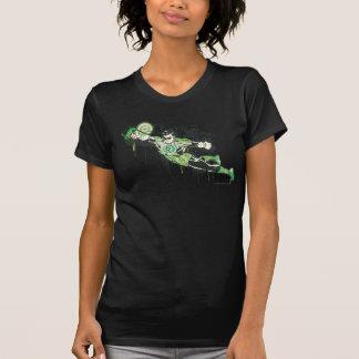 Green Lantern Graffiti Character T-Shirt