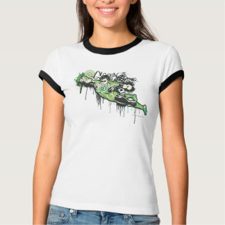 Green Lantern Graffiti Character T-Shirt