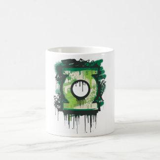 Green Lantern Graffiti Symbol Coffee Mug