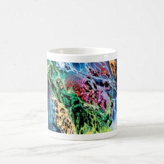 Green Lantern Group - Color Coffee Mug