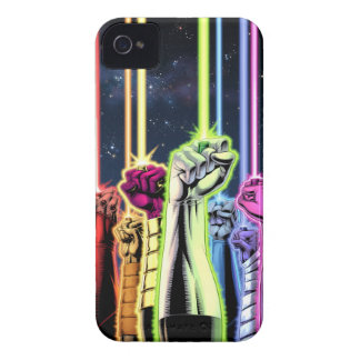 Green Lantern - Hands in Air with Rings iPhone 4 Case-Mate Cases