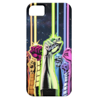 Green Lantern - Hands in the Air iPhone 5 Cases