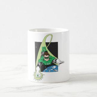 Green Lantern in Space Coffee Mug