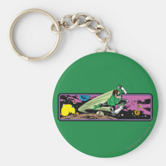 Green Lantern in Space Key Ring