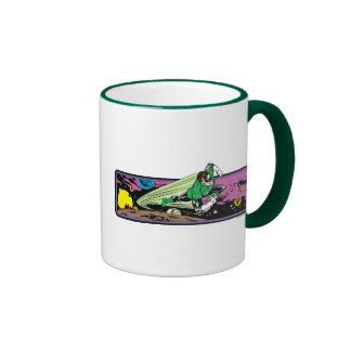 Green Lantern in Space Coffee Mugs