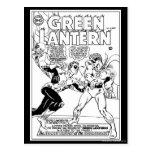Green Lantern in the ring, Black and White Postcards