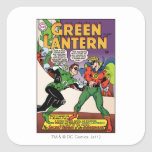 Green Lantern in the ring Stickers
