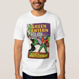 Green Lantern in the ring Tshirts