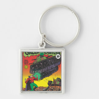 Green Lantern in the trenches Key Ring