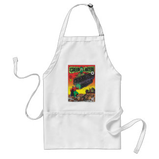 Green Lantern in the trenches Standard Apron