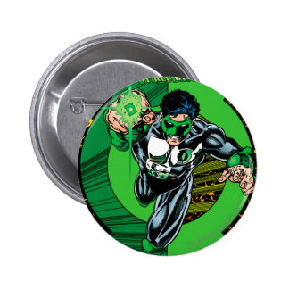 Green Lantern - It all begins here 6 Cm Round Badge