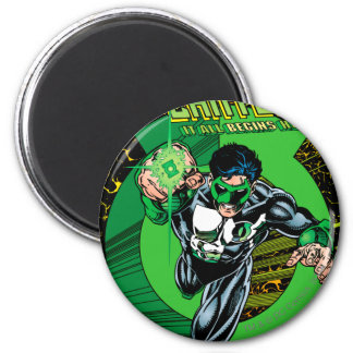 Green Lantern - It all begins here Magnet