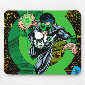 Green Lantern - It all begins here Mouse Mat