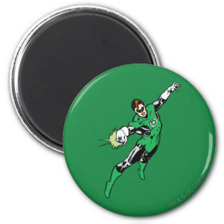 Green Lantern Jump 6 Cm Round Magnet
