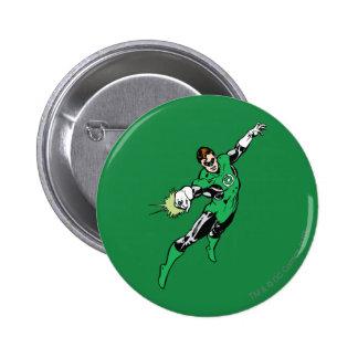 Green Lantern Jump 6 Cm Round Badge