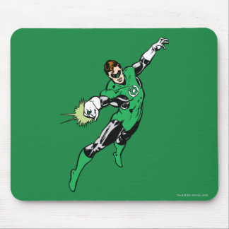 Green Lantern Jump Mouse Mat