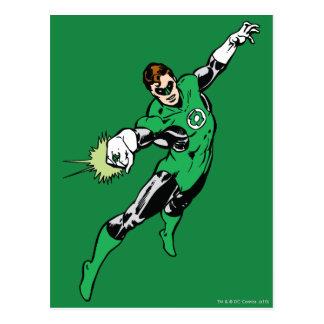 Green Lantern Jump Postcard