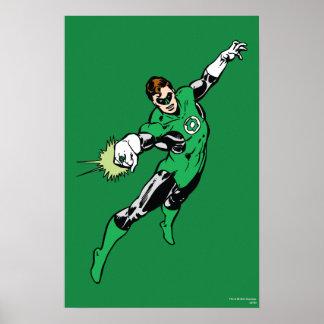 Green Lantern Jump Poster