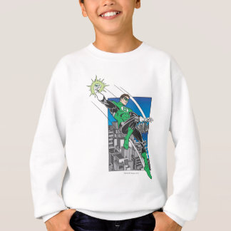 Green Lantern Lands in City Sweatshirt