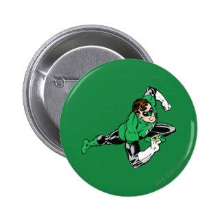 Green Lantern Leap Right 6 Cm Round Badge