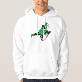 Green Lantern Leap Right Hoodie