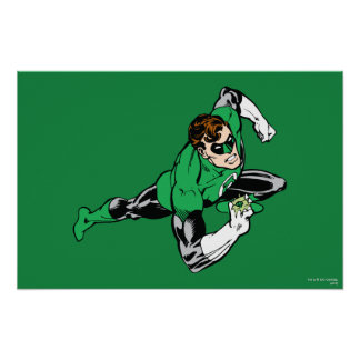Green Lantern Leap Right Poster