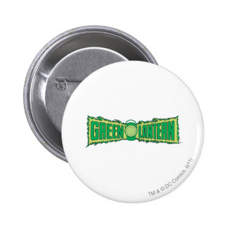 Green Lantern Letters 1 6 Cm Round Badge